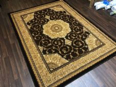 Modern Rugs Approx 9x7ft 270x220cm Woven Thick Sale Top Quality Brown New Luxury